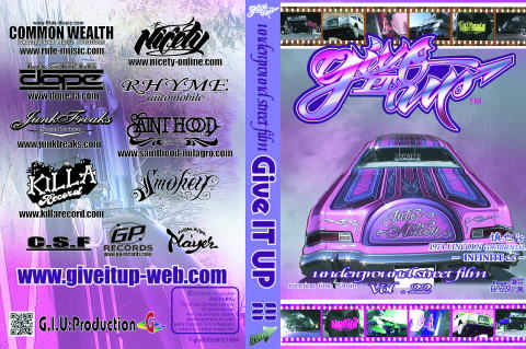 giveitup lowrider vol22 lincoln ローライダー画像